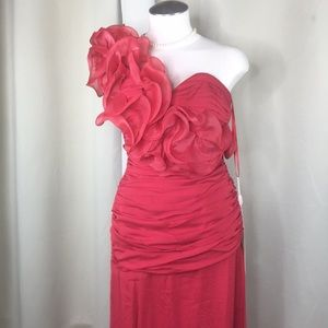 Cinderella Dresses - 5️⃣Gorgeous red full length gown wedding, prom,